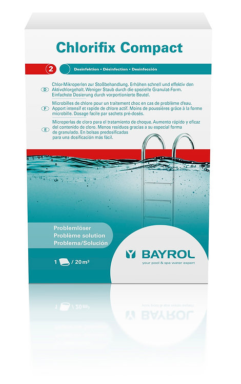 Bayrol Chlorifix Compact 3 Beutel à 400 g