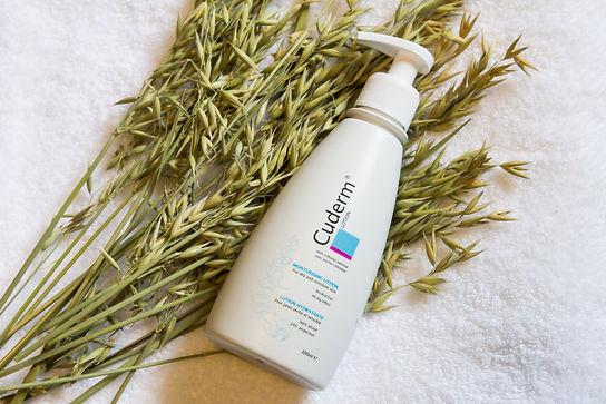 Cuderm - Colloidal Oatmeal Emollient UK - Alcohol Free, Vegan, Cruelty Free Skincare