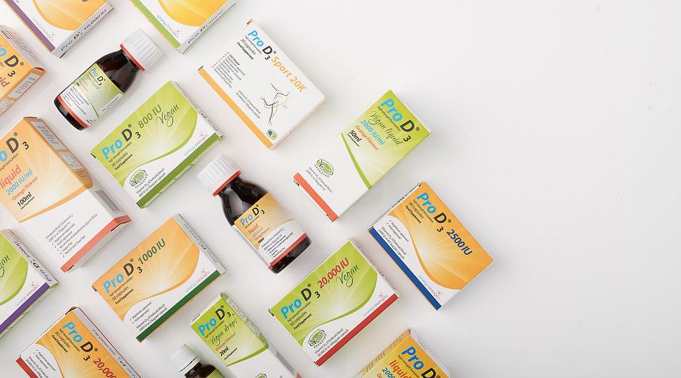 Pro D3 and Pro D3 Vegan - Vitamin D3 Cap