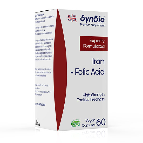 SynBio Premium - Iron + Folic