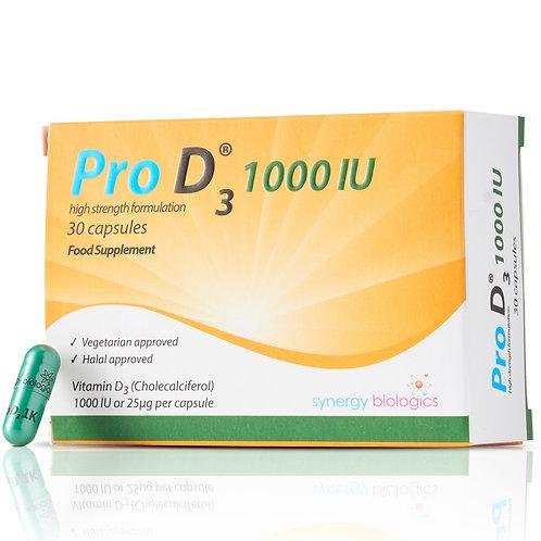 Pro D3 1000 IU