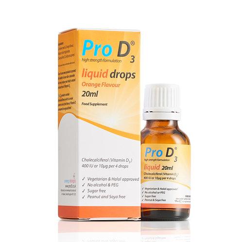 Pro D3 Liquid Drops [20ml]