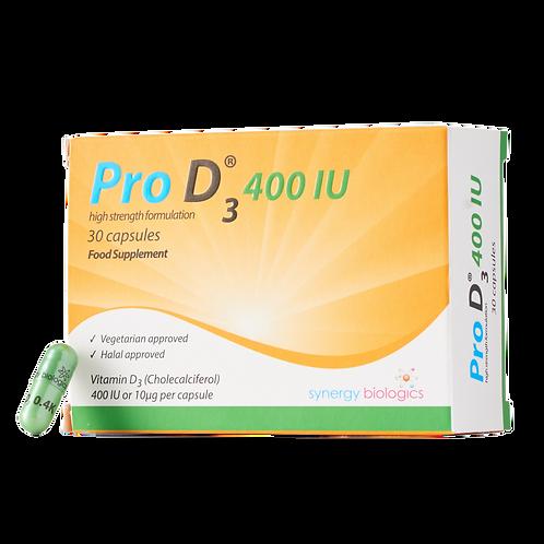 Pro D3 400 IU (30 Pack)