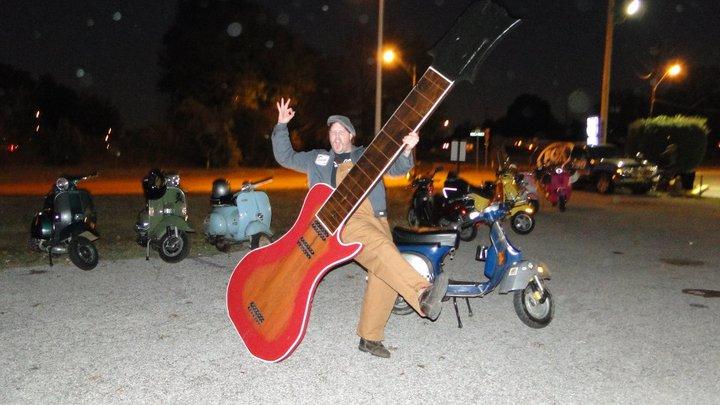 Gymkhana guitar