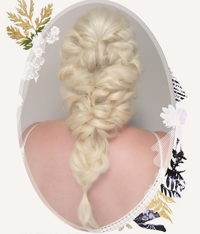 Bride hairstyle professional