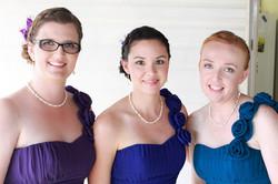 Brisbane hair makeup for bridesmaids