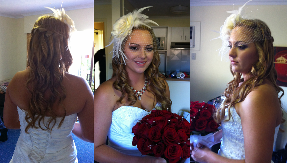 Brisbane bridal makeup and hair