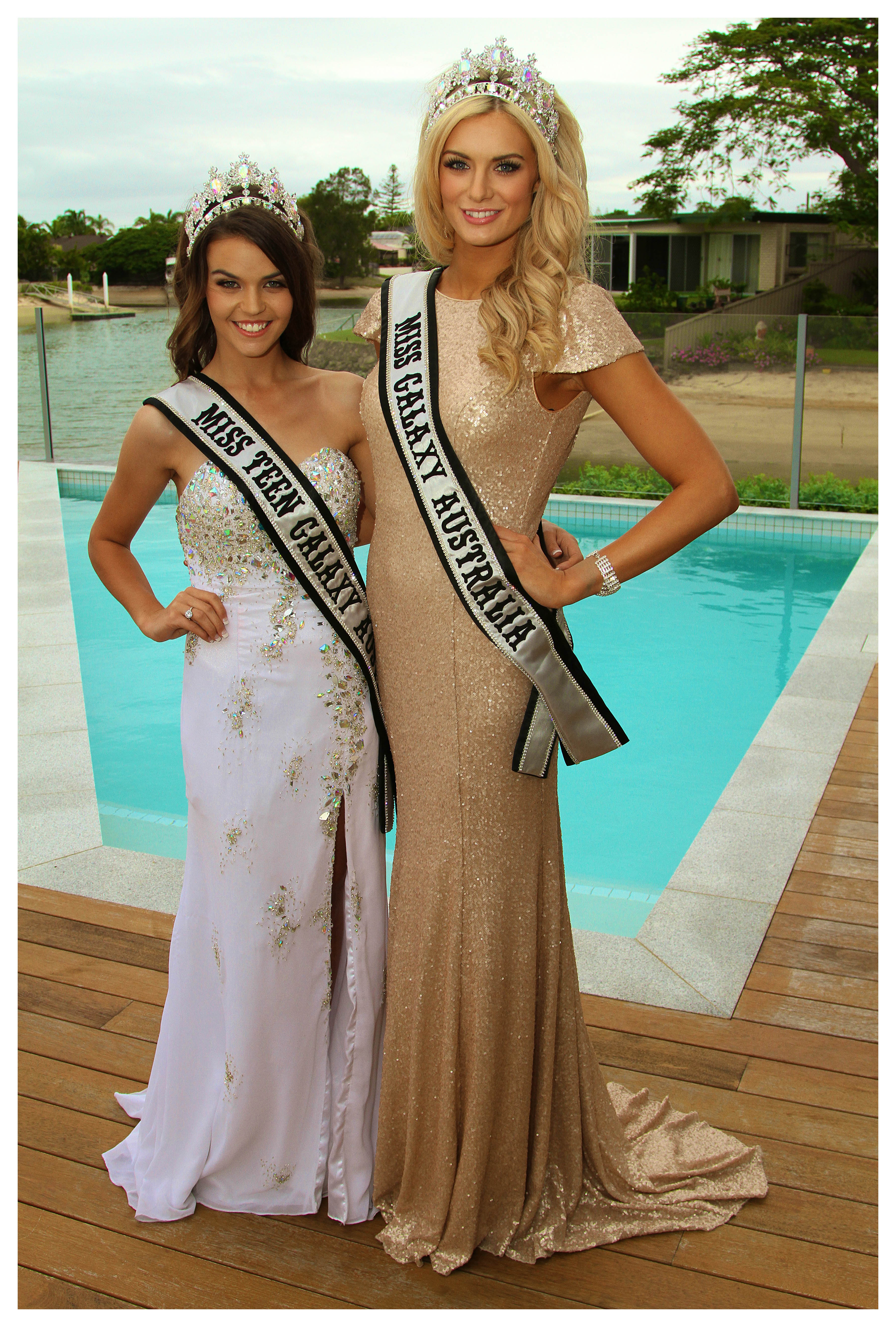 Miss Galaxy Australia 2014 Winners