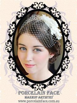 Gold Coast bride natural makeup hair