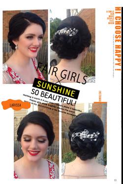 Brisbane formal makeup and hair