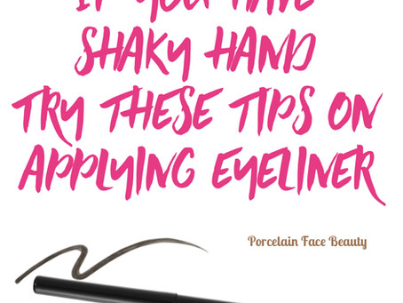 Eyeliner Tips for a perfect application