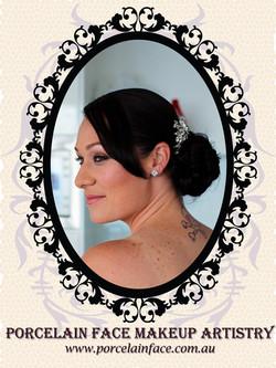 Gold Coast bride makeup and hair