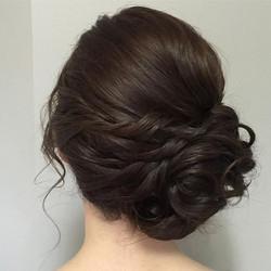 Wedding hairstyle gold coast