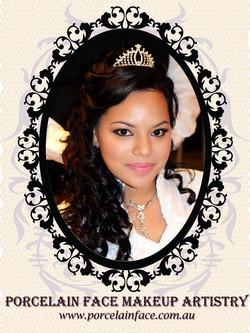 Wedding bride long hair hairstyle