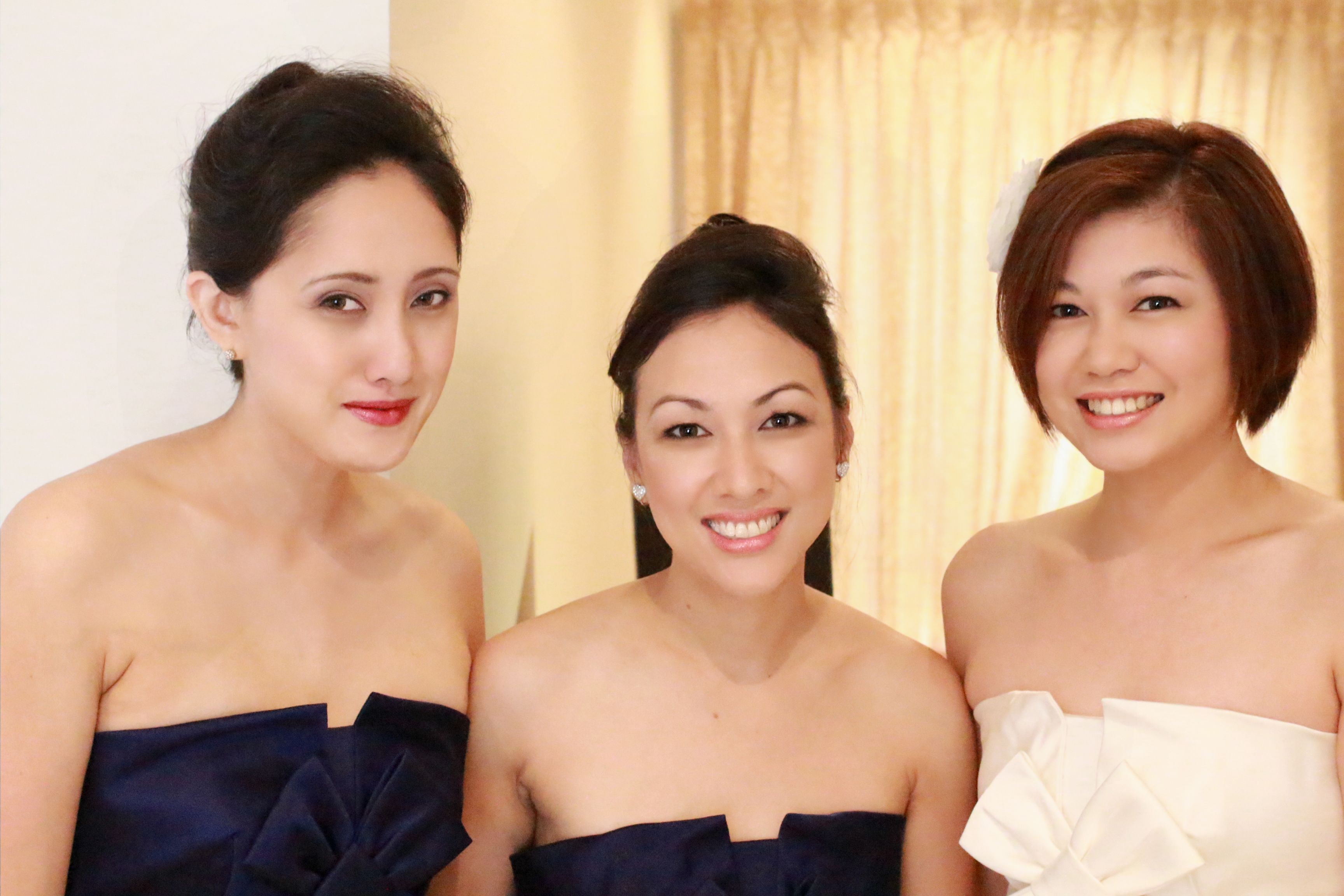 Brisbane bridesmaid makeup wedding