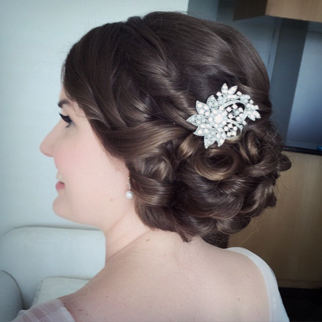 Brisbane wedding hair and makeup