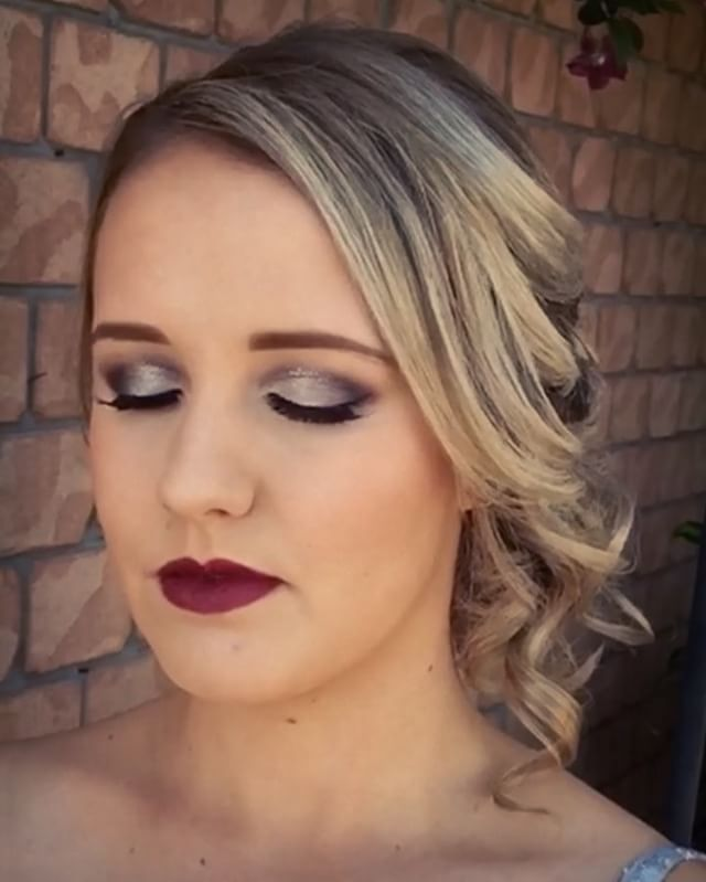 Formal hair and makeup ideas