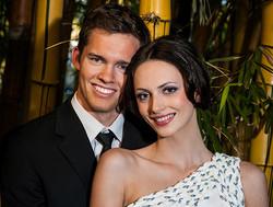 Brisbane bridal makeup hair style