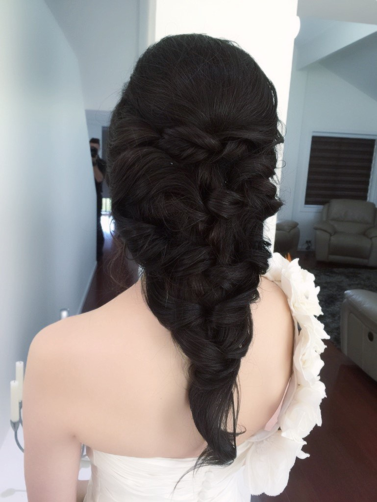 Brisbane Asian Wedding Hair Makeup
