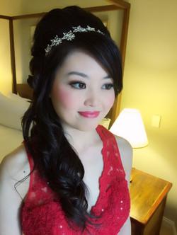 Gold Coast bridal hair makeup