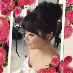 Asian wedding hair & makeup artist