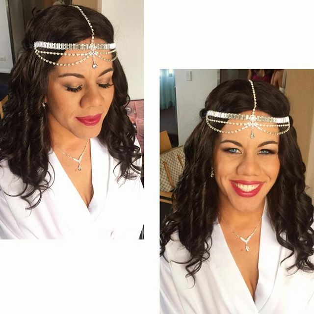 Bride hair and makeup artist