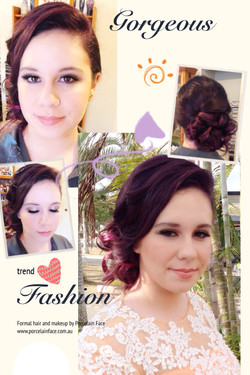 Gorgeous Formal hair and makeup