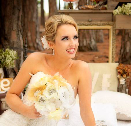 Gold Coast bridal elegant makeup
