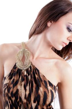 Fashion catalog elegance make up