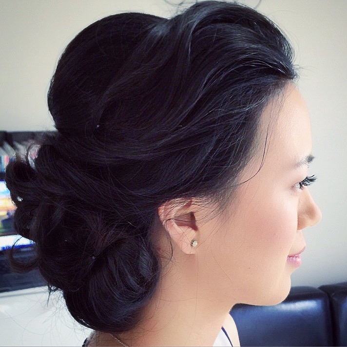 Asian wedding hair makeup specialist