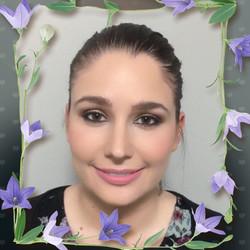 Porcelain Face hair and makeup