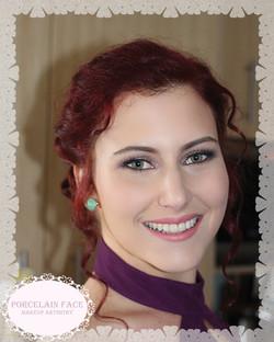 gold coast bridesmaid makeup hair