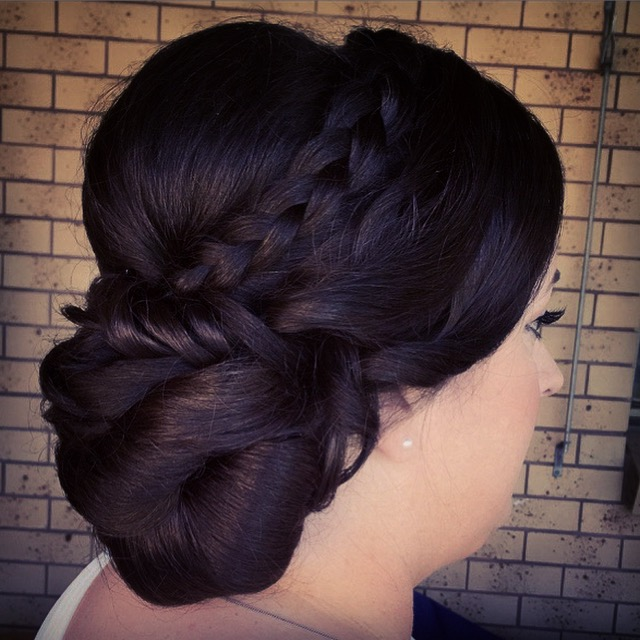 BrisbaneGold Coast Wedding Hairstyle