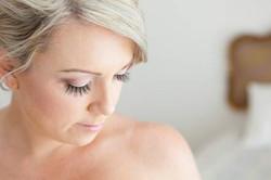 Gold Coast bride makeup hair styling