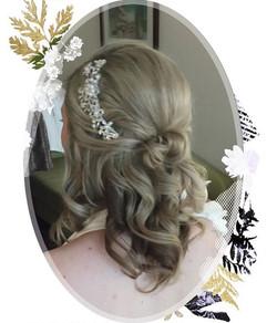 Bride hair and makeup artist