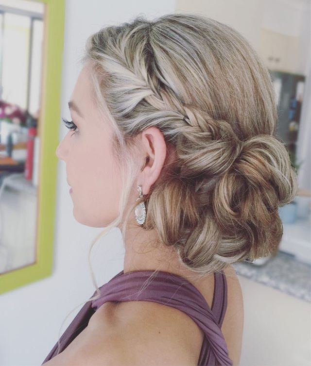 Gold Coast wedding hairstyle