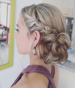 Gold Coast wedding hairstyle