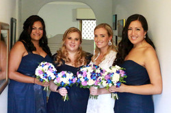 Brisbane bridal party makeup hair