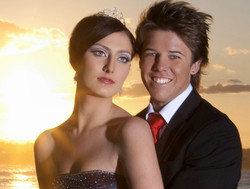 Gold Coast Formal makeup hair style