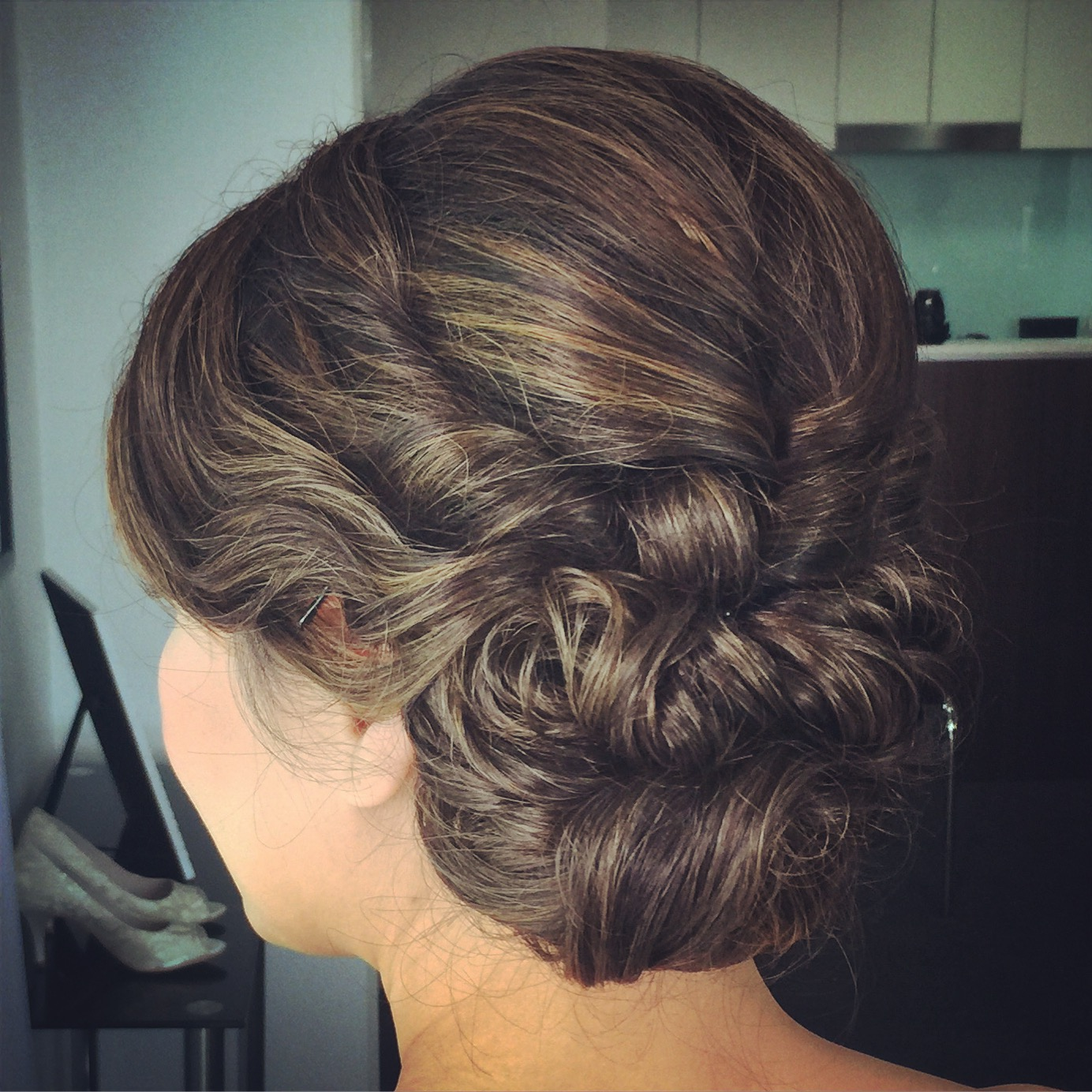 Brisbane Asian wedding hairstyle
