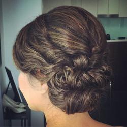 Brisbane Asian wedding hairstyle