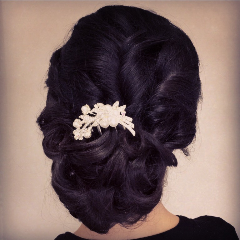 Brisbane bridal hairstyle