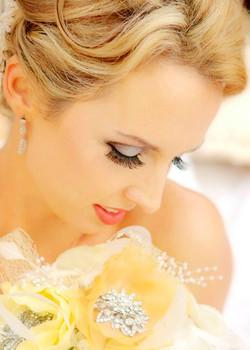 Gold Coast bride makeup