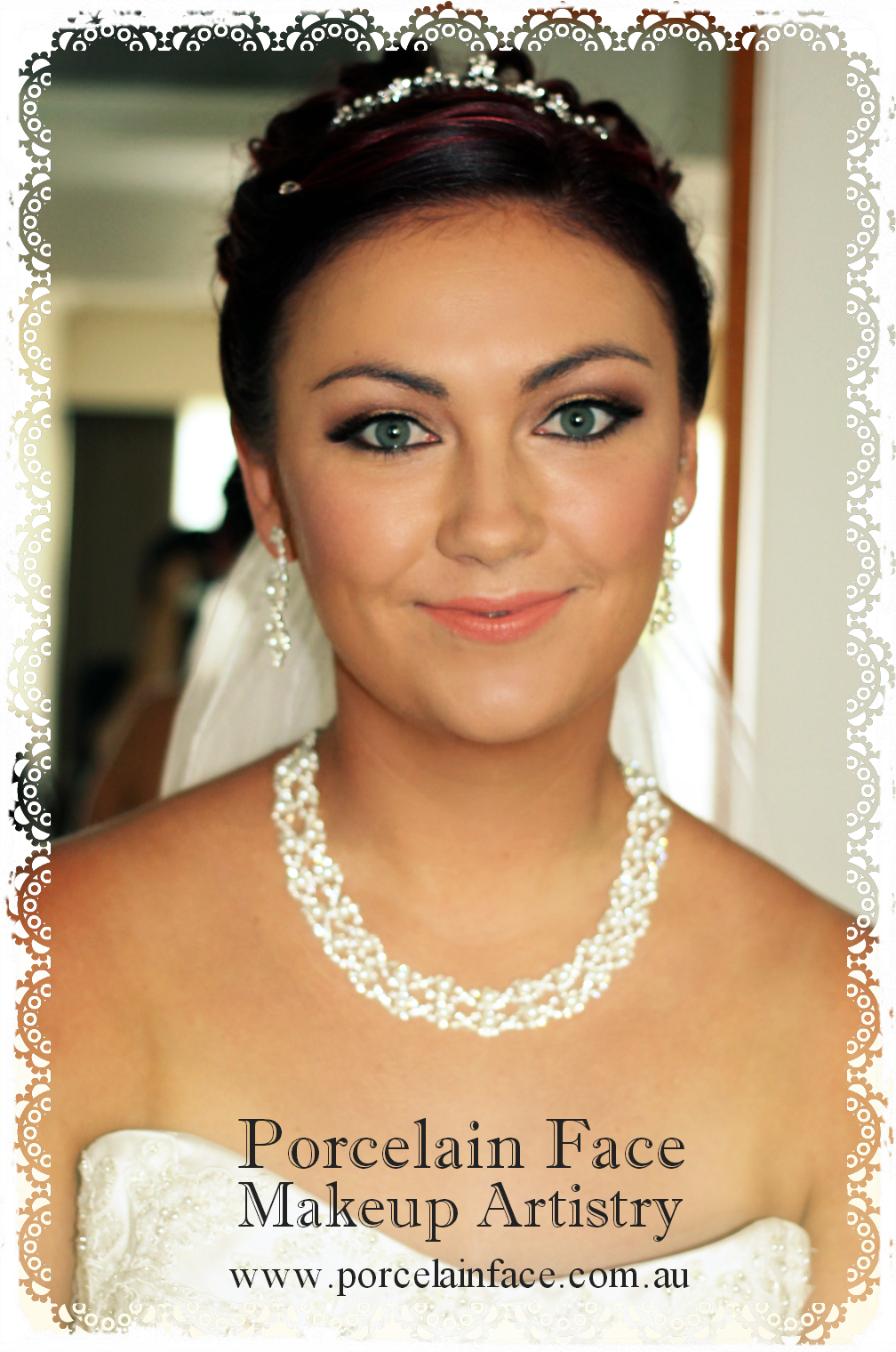 Gold Coast wedding hair and make up