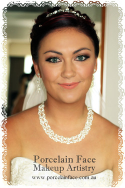Gold Coast wedding hair and make up