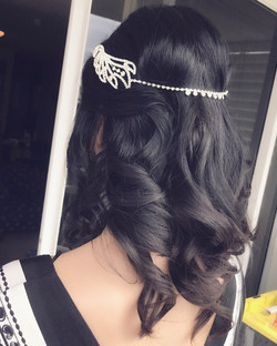 Bride hairstyle Gold Coast