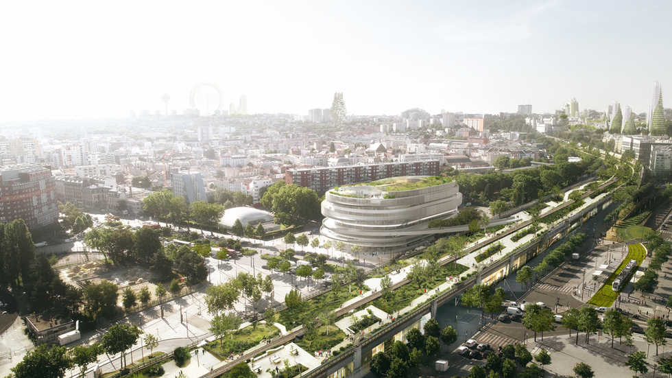 INEDIT x BAUMSCHLAGER EBERLE / PARIS / FRANCE
