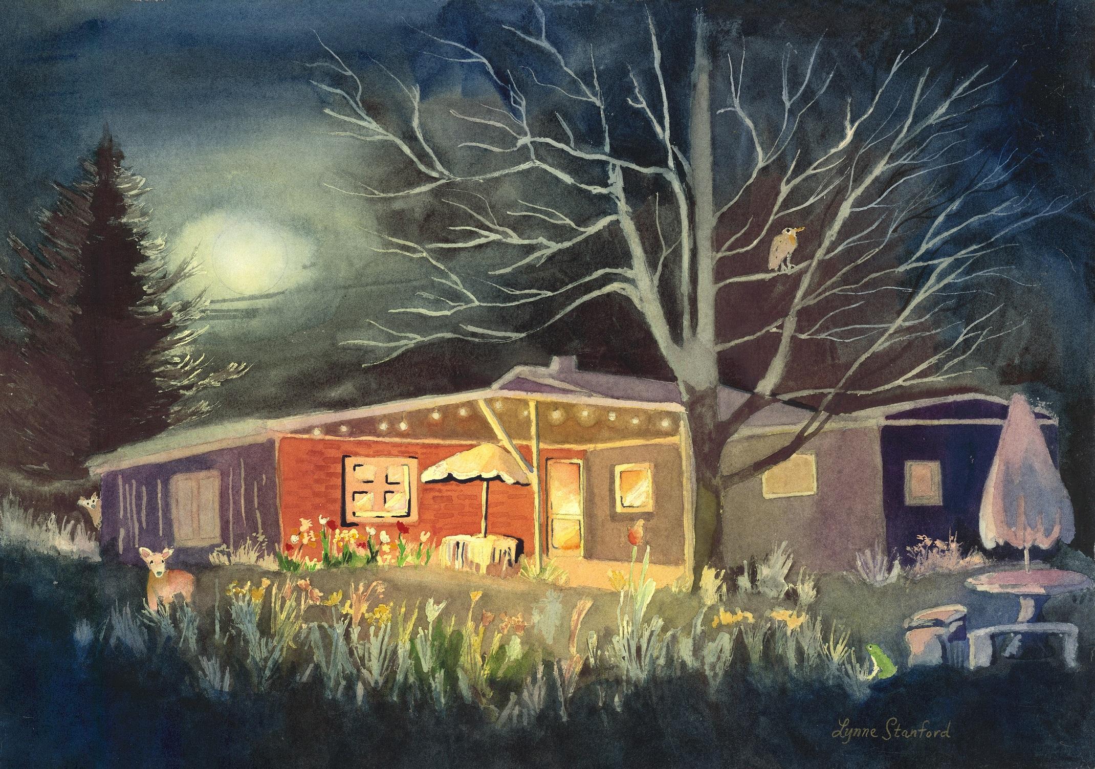 Midnight Moonlight House