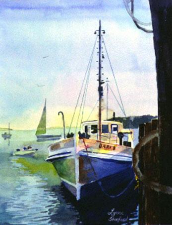In Port Clyde