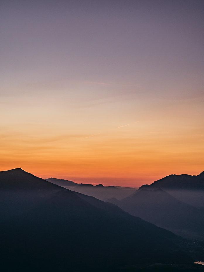 Sunset at Shenendoah National Park